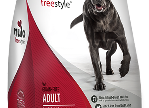 Nulo Freestyle Grain-Free Dog Food - Lamb and Chickpea Recipe