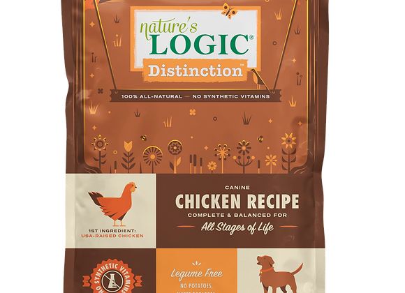 Nature's Logic Distinction Chicken Dry Dog Food