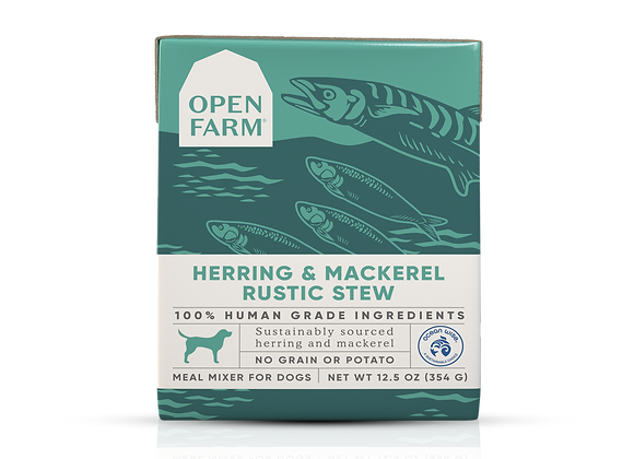 Open Farm Herring and Mackerel Rustic Stew for Dogs