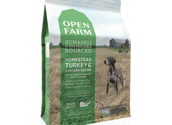 Open Farm Homestyle Turkey and Chicken Dry Dog Food
