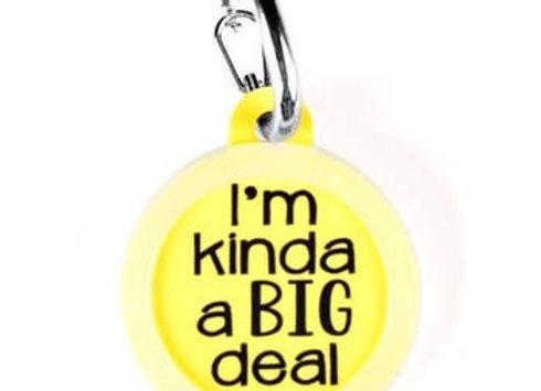 """""""I'm Kinda a Big Deal"""" Funny Pet Tag"""