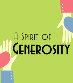 Embrace the Spirit of Generosity