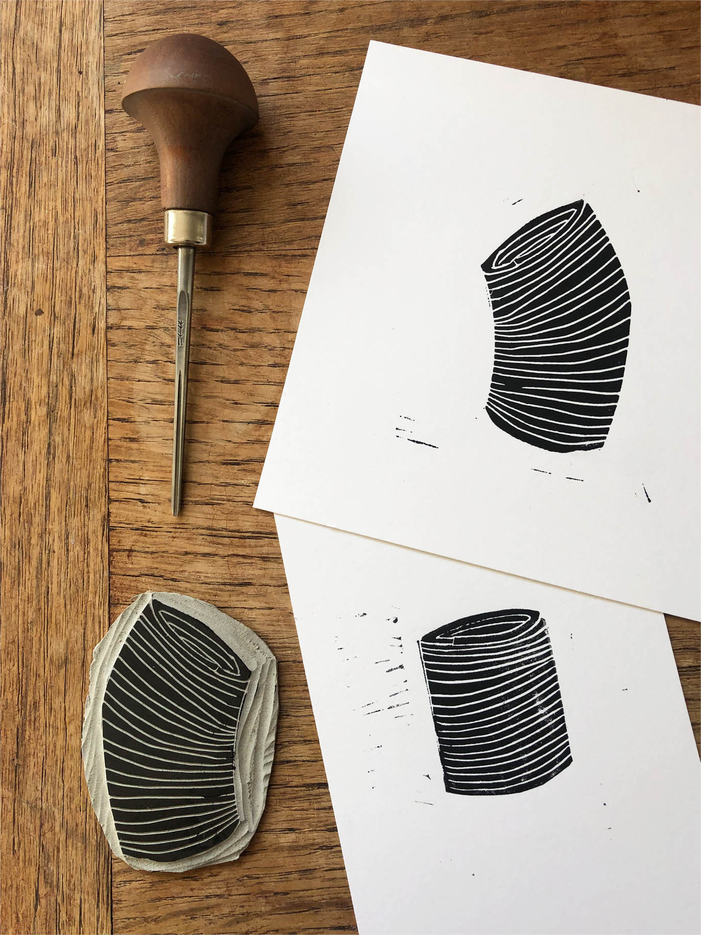 Slinky Prints & Carving