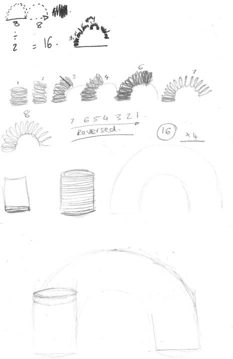 Original Slinky Drawings