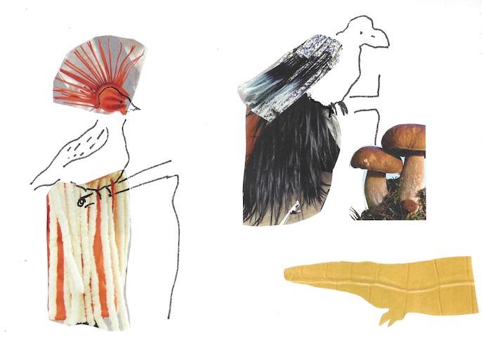 Origin of Birds Collage
