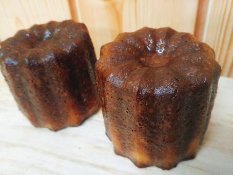 新商品のご紹介   ~米粉を使ったカヌレ・パウンドケーキ~