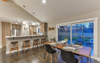 Modern re-arangement livng room design