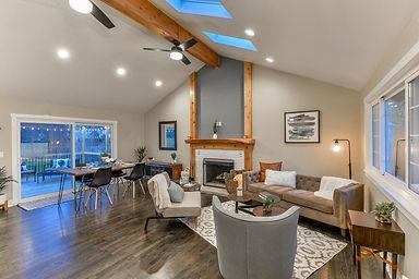 Modern home rearangement