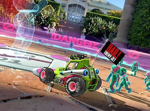 Augmented Reality game Brawlerz Zombies