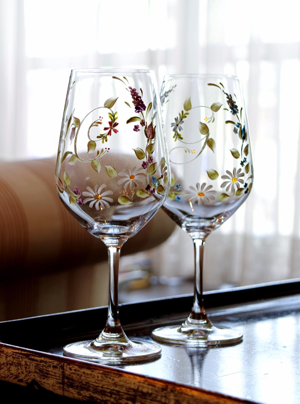 百合ワイングラス