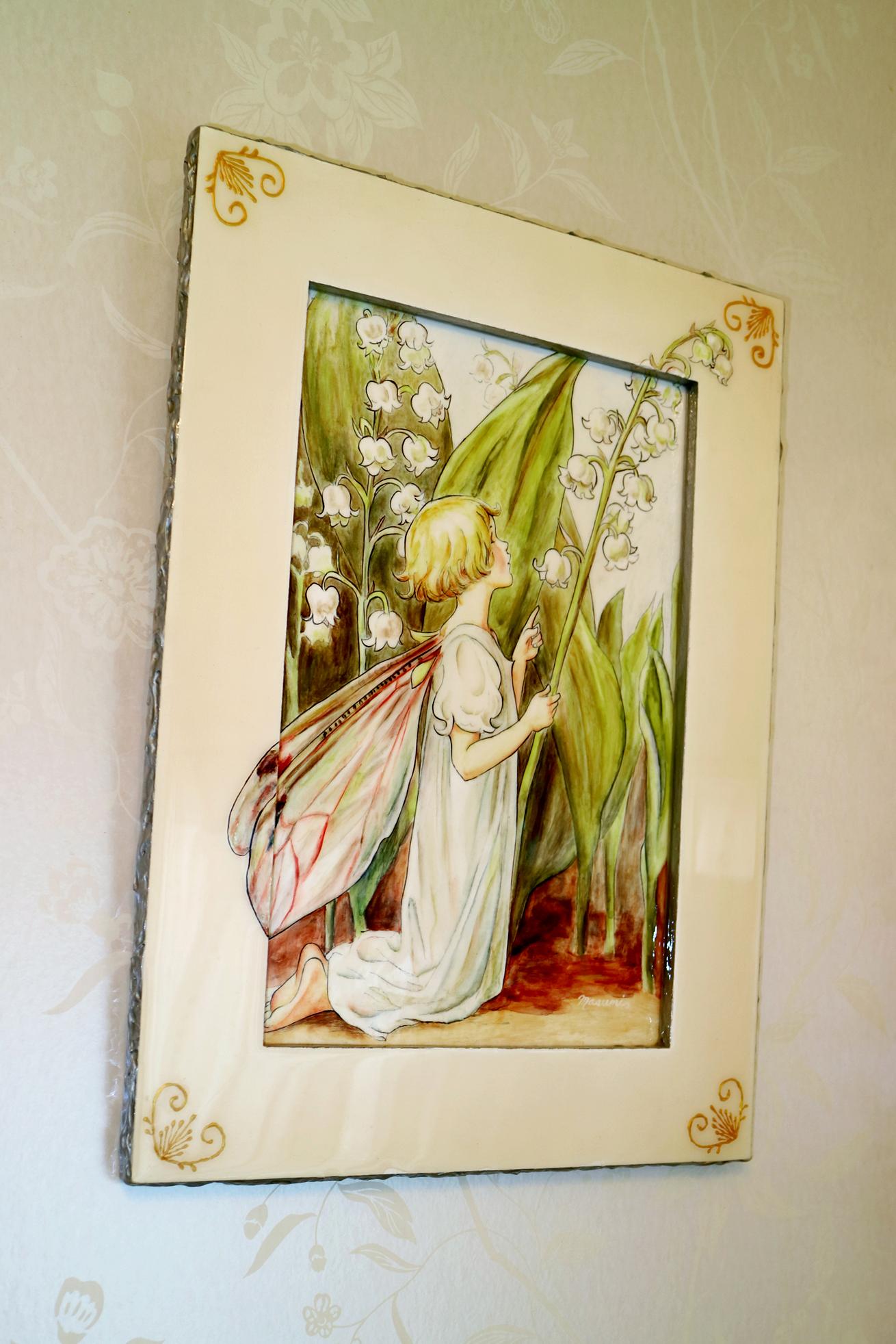 デコラティブペイント,スズランの妖精