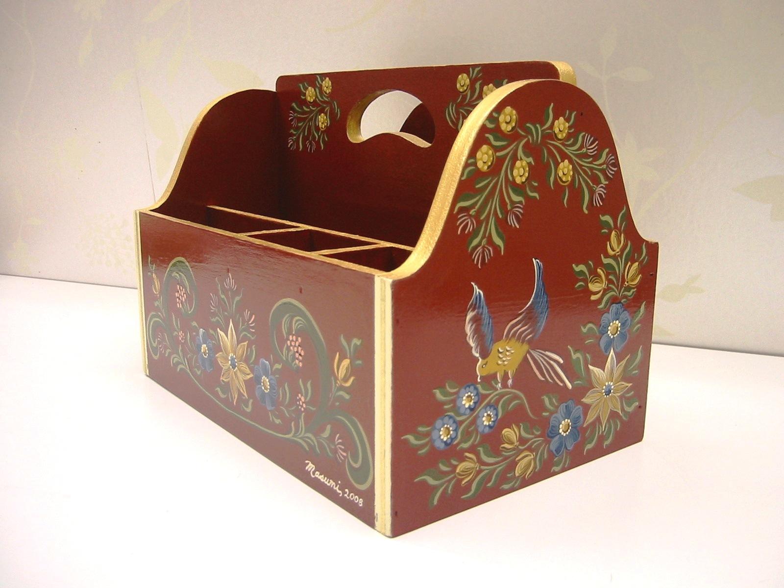 デコラティブペイント,ヒンダーローペンのボックス
