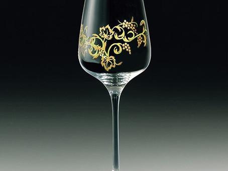 葡萄唐草ワイングラス、Zekooで発売