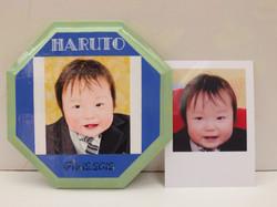 赤ちゃんの模写プレート