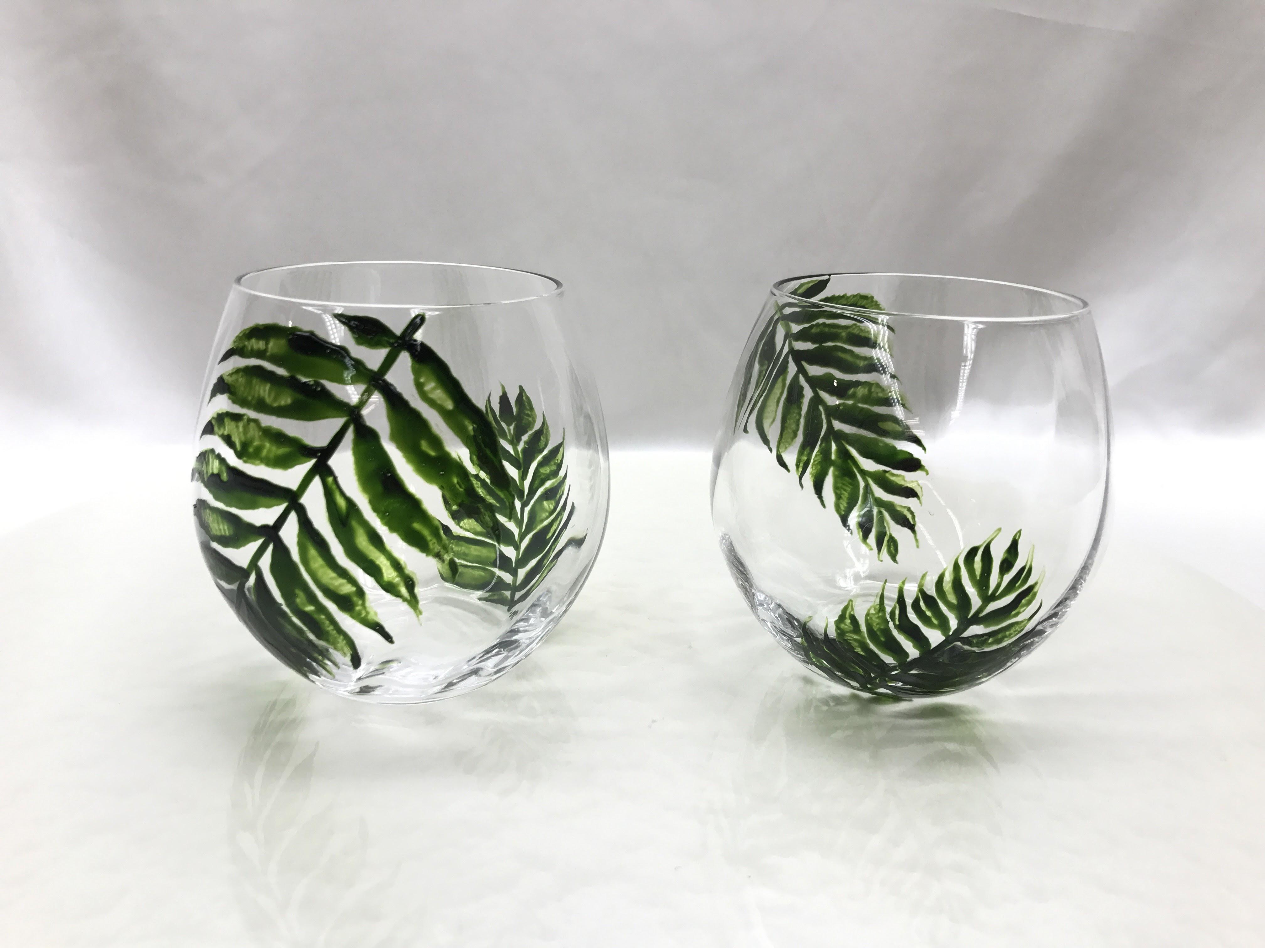 シダのグラス