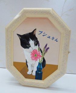 デコラティブペイント,猫の模写