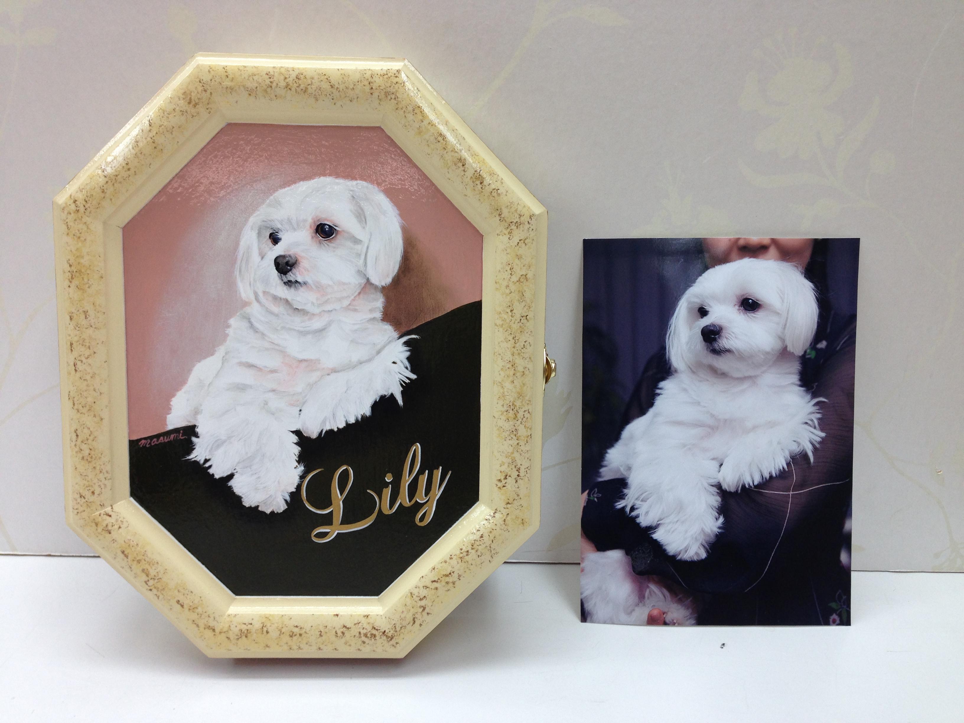 デコラティブペイント,犬の模写