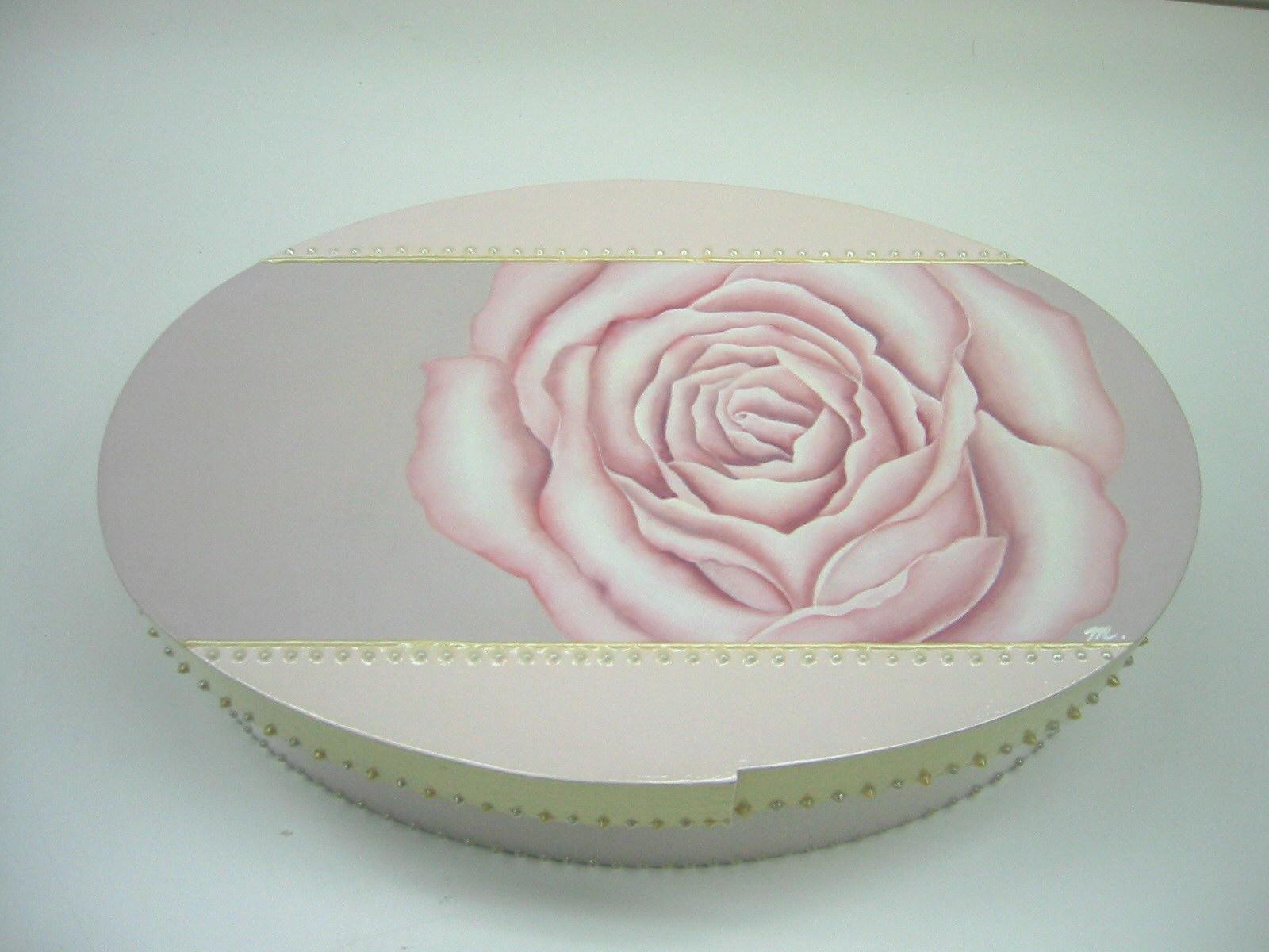デコラティブペイント,バラの小箱