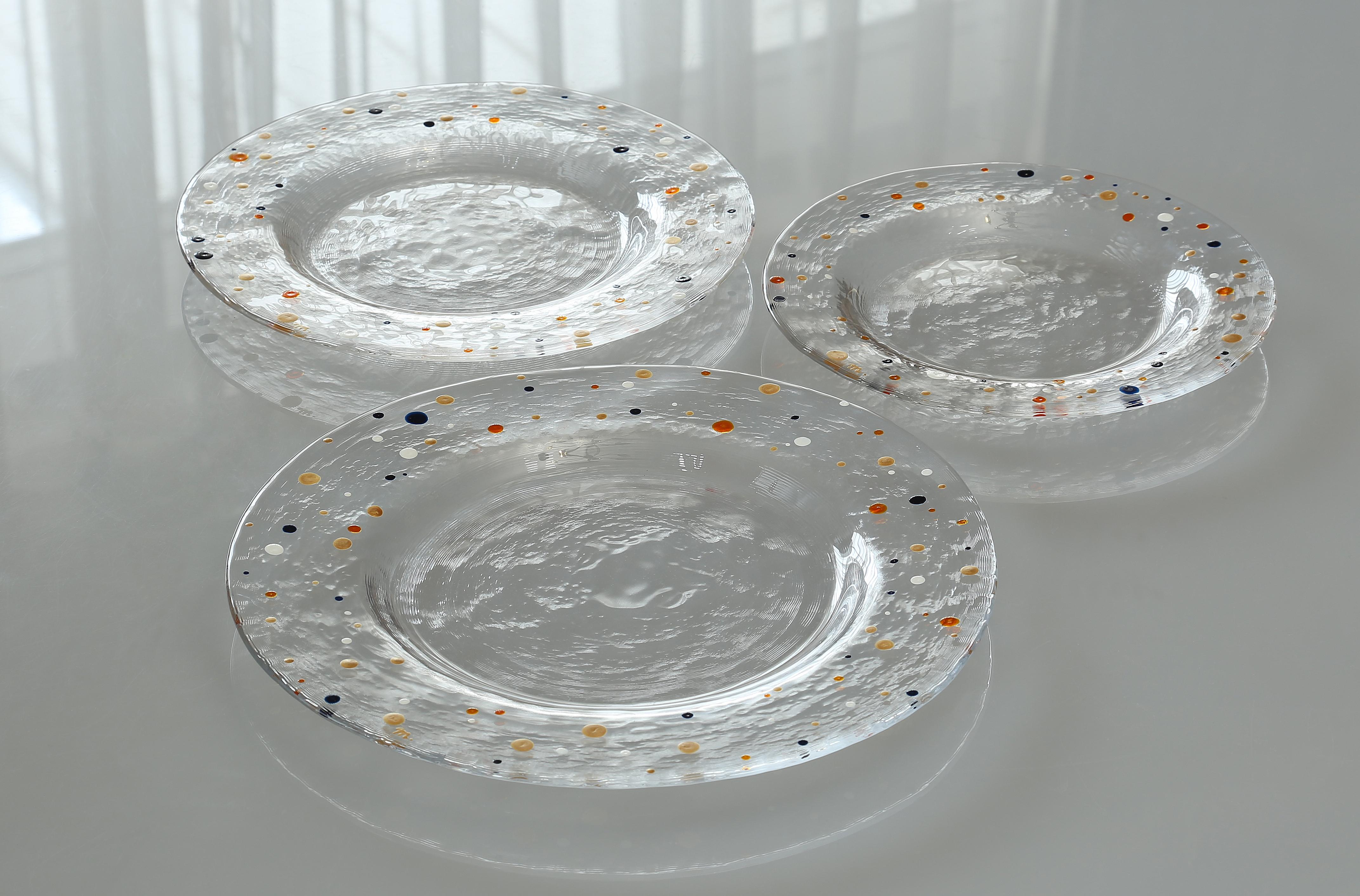 ドット多色皿 - コピー