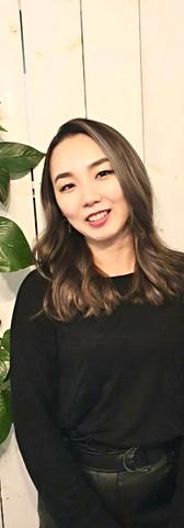 Senior stylist Marina