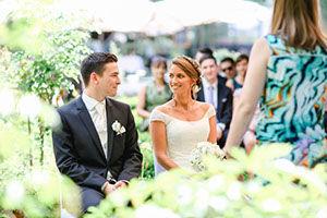 Hochzeit feiern im Rosarium