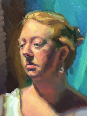 Portrait Study,