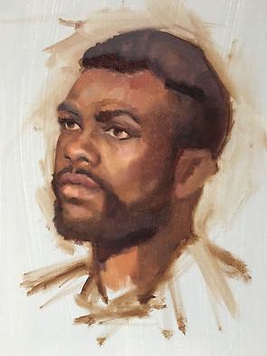 Portrait, Grisaille