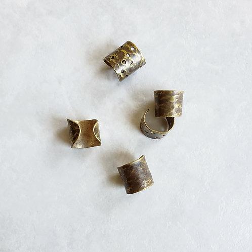 brass ear cuff