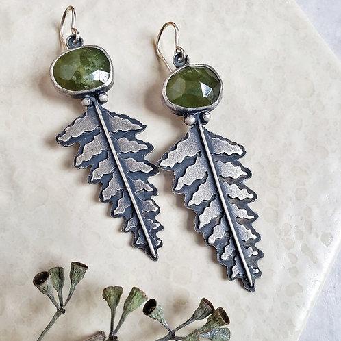 vesuvianite ferns