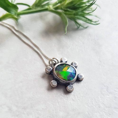custom black opal molecule
