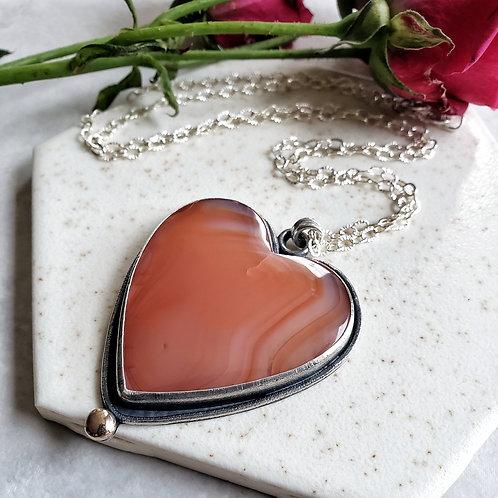 tinman love pendant