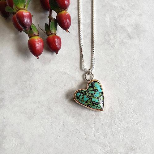 yungai turquoise heart:
