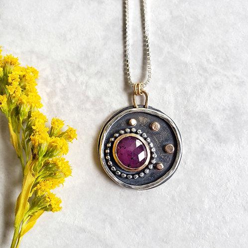 wish, fine jewelry: tourmalinated ruby