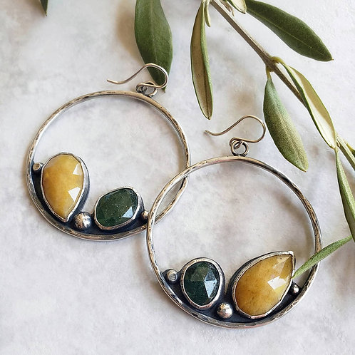 tuscany magpie hoops