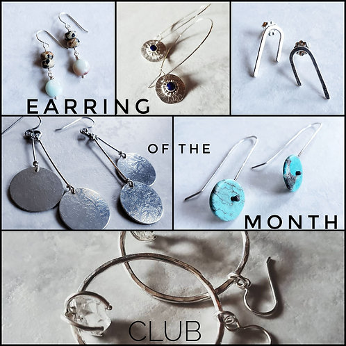earring of the month club (4, 6, or 12 mos)