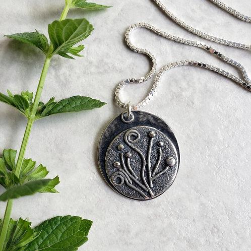 tendril bloom medallion