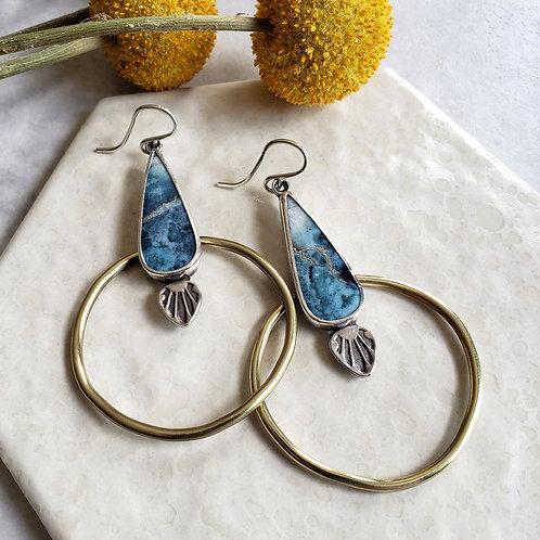 marine blue hoops