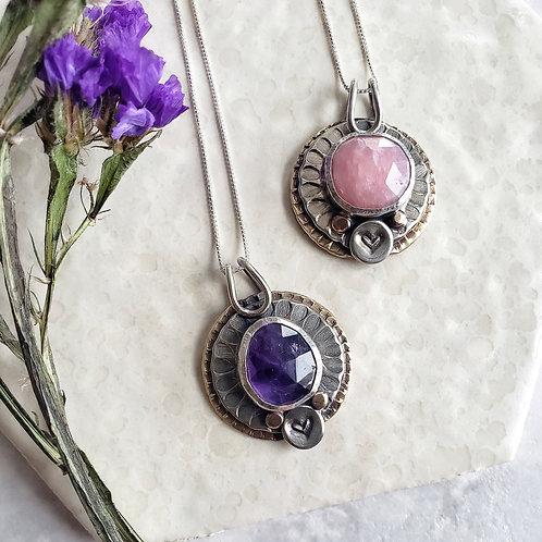 Gina: matching friends pendants