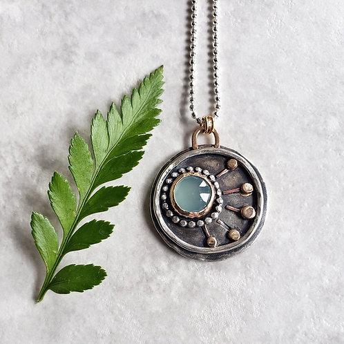 wish, fine jewelry: aqua chalcedony