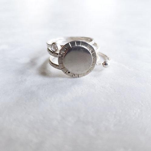 celestial: ring trio set