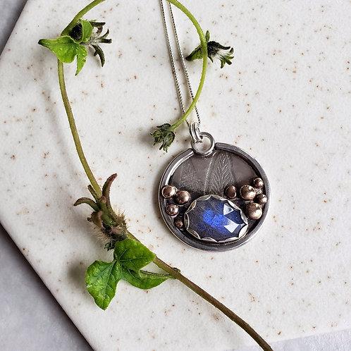 leaf & stone, labradorite