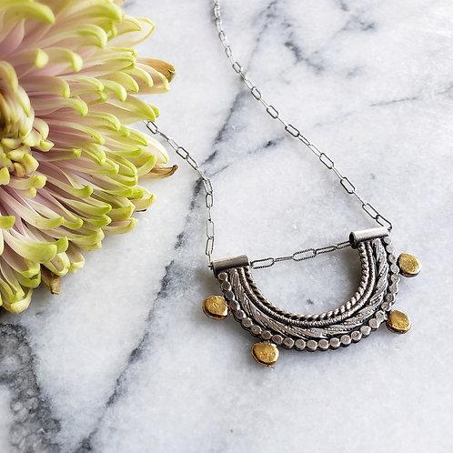 happy little necklace ss/24k