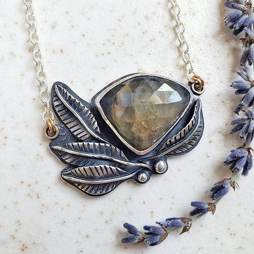 leaf fantasy: African sapphire