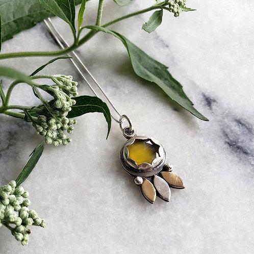 yellow chalcedony