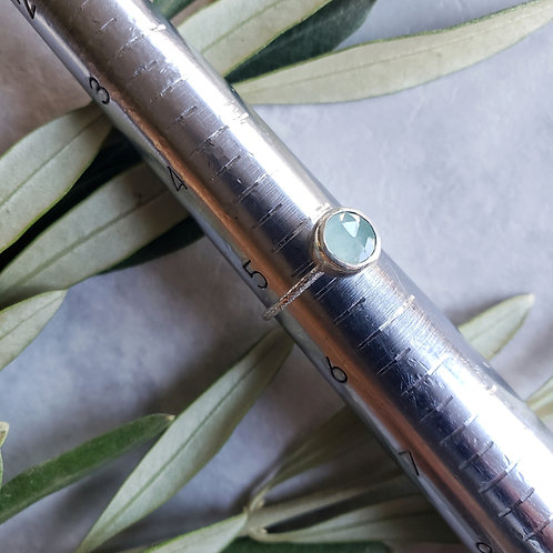 gem stacker: aqua chalcedony