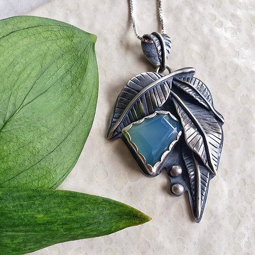 leaf fantasy: Peru chalcedony