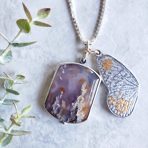 flight: lavender plume agate