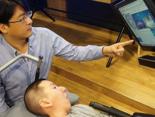 Mouse ocular da Samsung auxilia tetraplégicos a utilizarem o computador