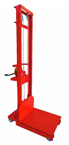 elevador manual con malacate