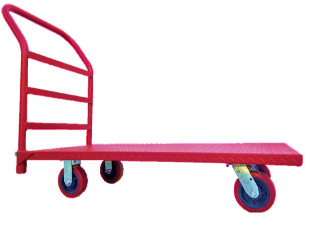 Carro plataforma de lámina mediana